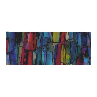Ebi Emporium Facets of the Self 4 Mixed Media Bed Runner