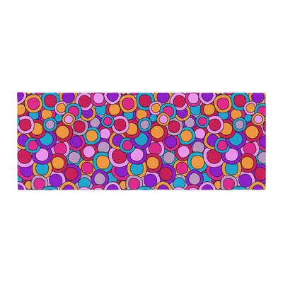 Julia Grifol My Colorful Circles Bed Runner