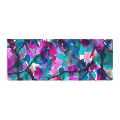 Ebi Emporium by any other Name 1 Watercolor Bed Runner