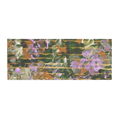Ebi Emporium Dust Garden Mixed Media Bed Runner