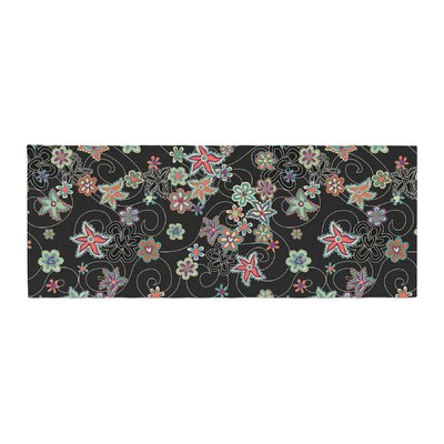 Julia Grifol My Small Flowers Floral Bed Runner