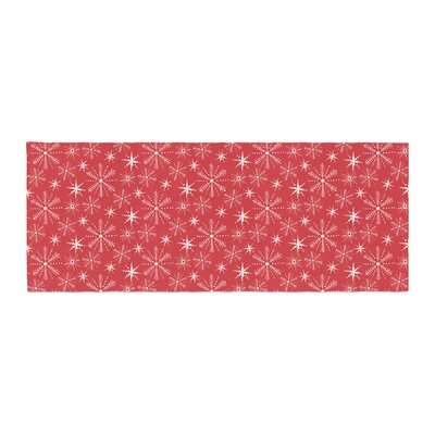 Julie Hamilton Snowflake Berry Holiday Bed Runner
