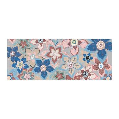 Jolene Heckman Marsala Floral Mix Bed Runner