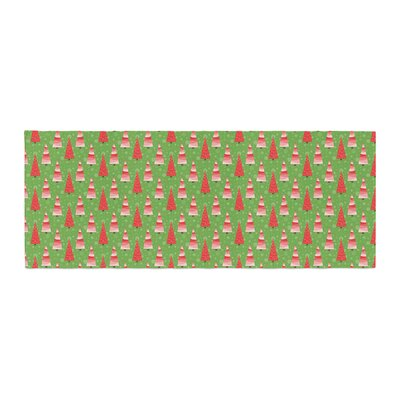 Julie Hamilton Juniper Christmas Trees Bed Runner