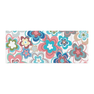 Jolene Heckman a Marsala Morning Floral Bed Runner