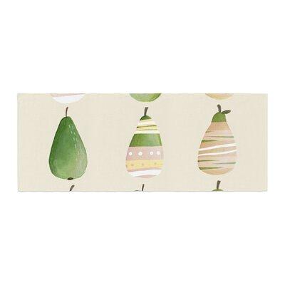Judith Loske Happy Pears Bed Runner