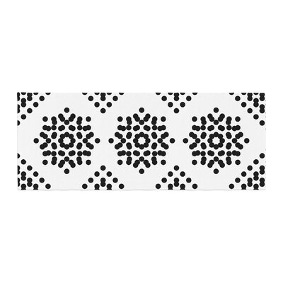 Tiny September Dot Party Digital Bed Runner