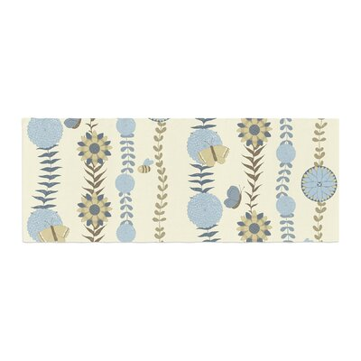 Judith Loske Flower Garden Bed Runner