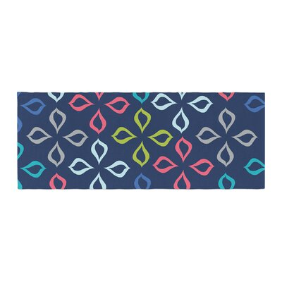 Jolene Heckman Simple Flower Flowers Bed Runner