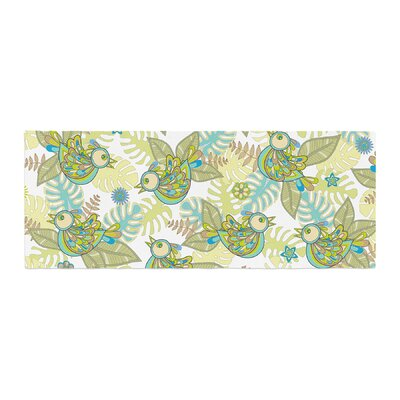 Julia Grifol Summer Birds Bed Runner