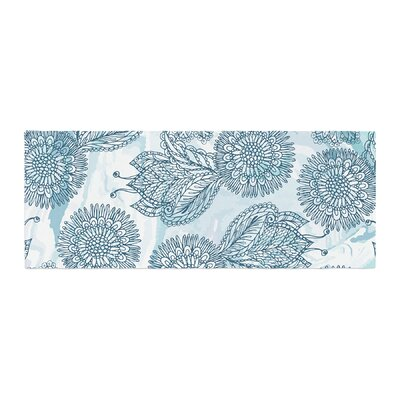 Julia Grifol Garden Floral Vector Bed Runner