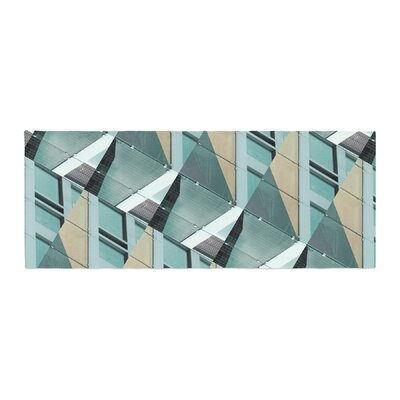 Tiny September Diagonal Arrows Photography Bed Runner