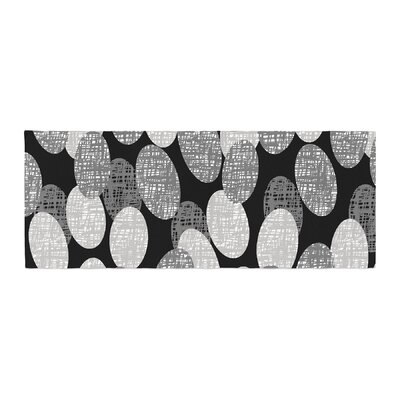 Jacqueline Milton Seeds - Monochrome Bed Runner