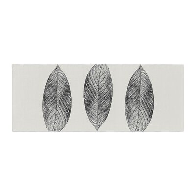Julia Grifol Three Leaves Nature Bed Runner