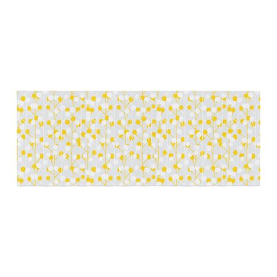 Julie Hamilton Lemon Drop Bed Runner