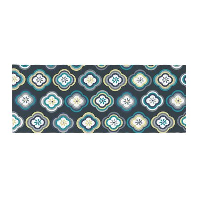 Jolene Heckman Graphic Floral Bed Runner