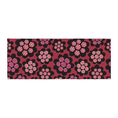 Jane Smith Garden Pods Repeat Floral Bed Runner