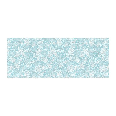Jacqueline Milton Vine Shadow Floral Bed Runner