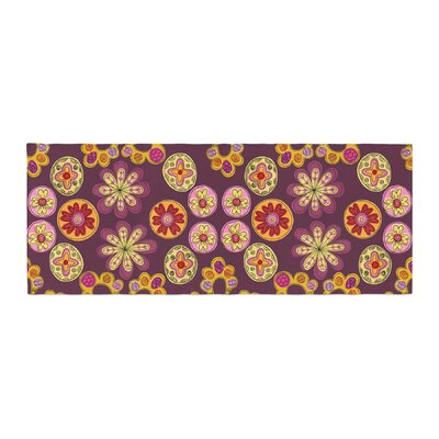 Jane Smith Indian Jewelry Floral Bed Runner