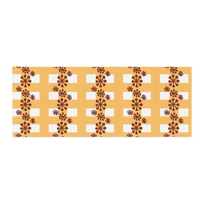 Jane Smith Mushroom Repeat Bed Runner