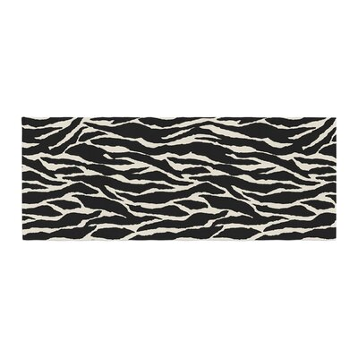 Jacqueline Milton Safari Mixed Media Bed Runner