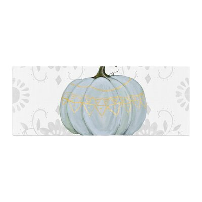 Jennifer Rizzo Boho Pumpkin Illustration Bed Runner
