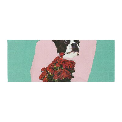 Jina Ninjjaga Bully Olive Photography Bed Runner