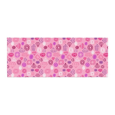 Jane Smith Gems Illustration Bed Runner