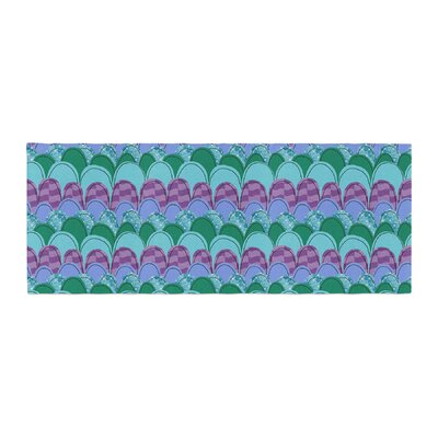 Jane Smith Woodland Waves Bed Runner