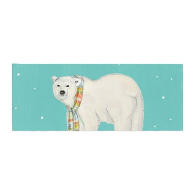 Jennifer Rizzo Chilly Snow Bear Bed Runner