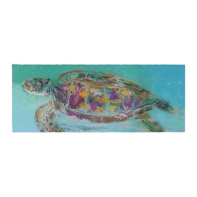 Josh Serafin Mommy Turtle Bed Runner