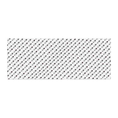 Jane Smith Heart Safety Pins Illustration Bed Runner