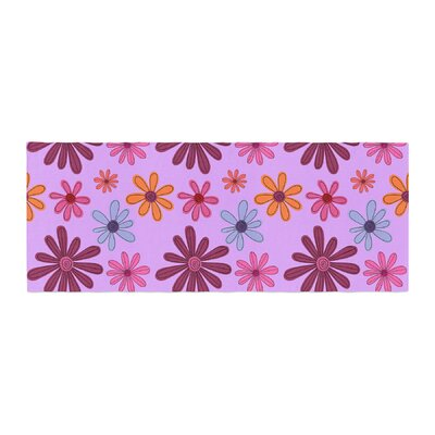 Jane Smith Woodland Floral Flowers Bed Runner