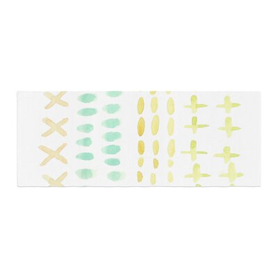 Jennifer Rizzo Dots and Dashes Bed Runner