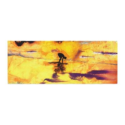 Josh Serafin Pool of Life Abstract Bed Runner
