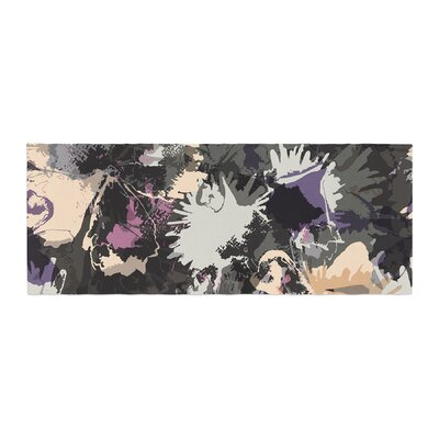 Jessica Wilde Punk Floral Bed Runner