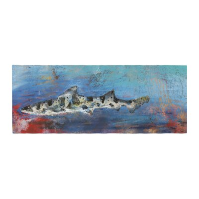 Josh Serafin Sea Leopard Shark Bed Runner