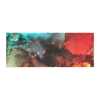 Abstract Anarchy Design Birth Place of the Heavens Abstract Bed Runner