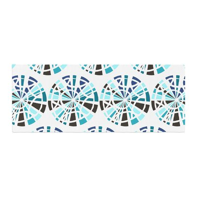 Patternmuse Precious Illustration Bed Runner Color: Topaz
