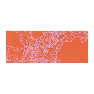 Patternmuse Mandala Pumpkin Bed Runner