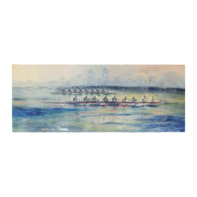 Josh Serafin Crew Rowing Bed Runner