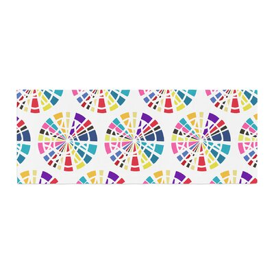 Patternmuse Precious Illustration Bed Runner Color: Multi