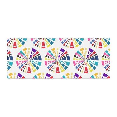 Patternmuse Precious Illustration Bed Runner Color: Multi