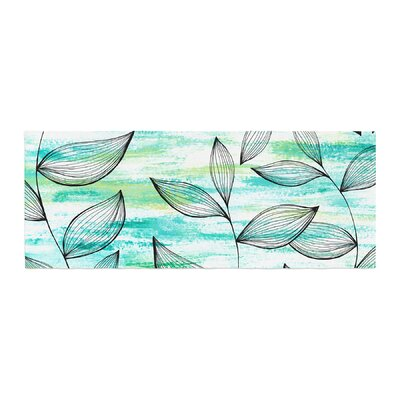 Jessica Wilde Tropical Leaf Garden Nature Bed Runner