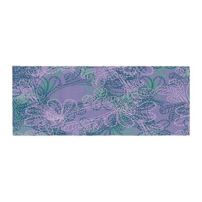 Patternmuse Jaipur Bed Runner Color: Juniper