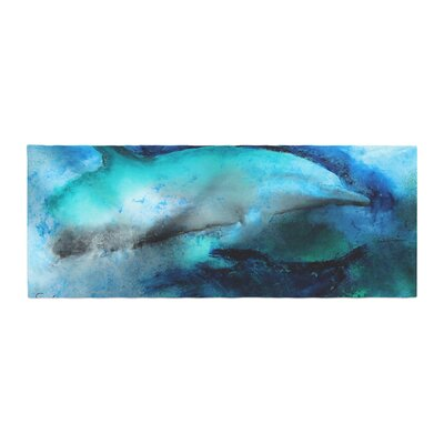 Josh Serafin Dolphin Bed Runner