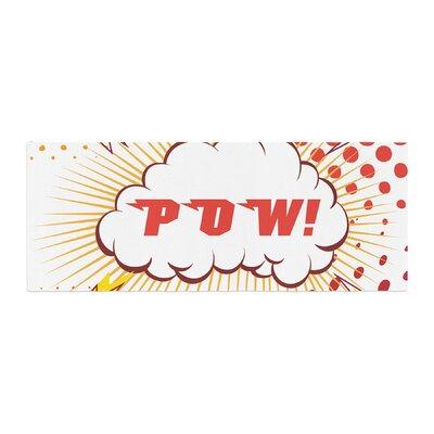 POW! Cartoon Bed Runner
