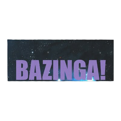Bazinga Space Bed Runner ColorColor: Red