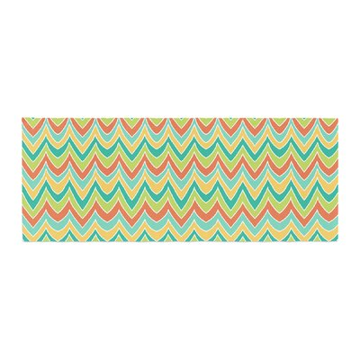 Pom Graphic Design Bright and Bold Bed Runner