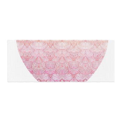 Pom Graphic Design Love Bed Runner